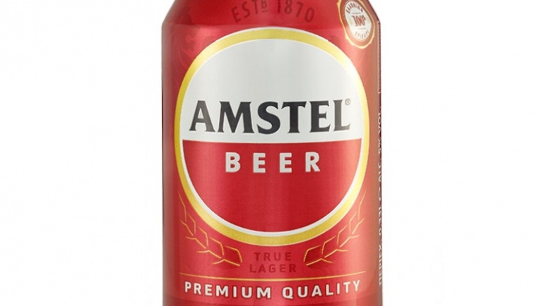 Amstel κουτί 330ml – Heineken κουτί 330ml